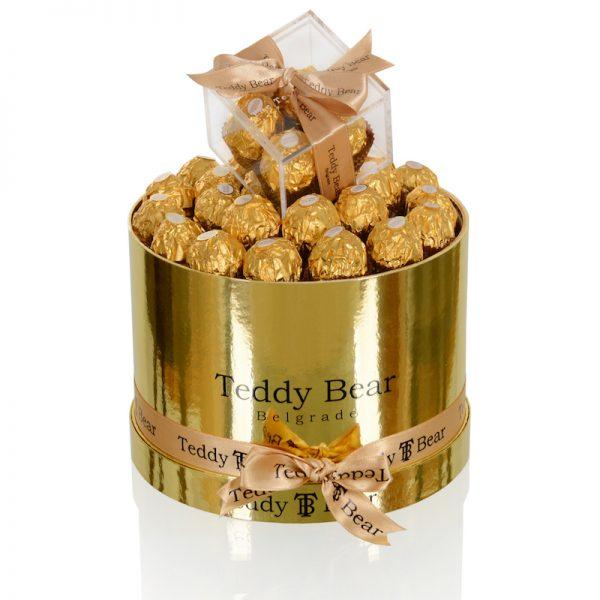 Teddy Bear Gold Ferrero small