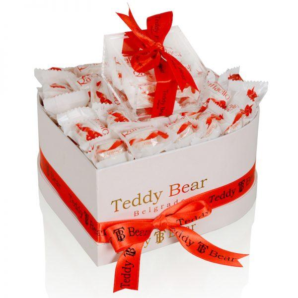Teddy Bear Small Raffaello Heart