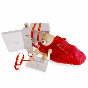 Teddy Bear GoldenRed® 30cm + Roberto Cavalli + Heart red sa porukom