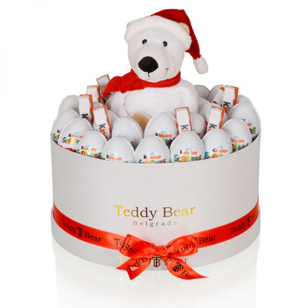 Teddy Bear Xmas White Bear