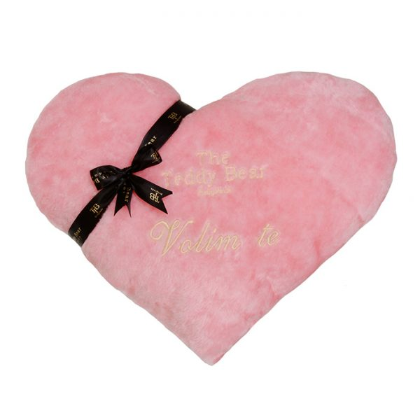 TheTeddyBear Heart roze sa porukom