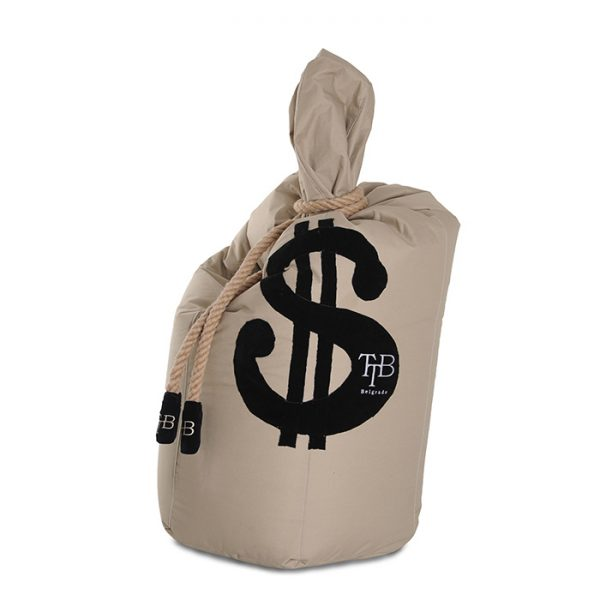 The Teddy Bear Money Bag
