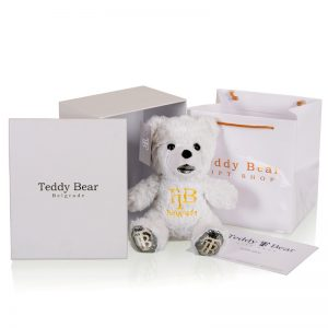 Teddy Bear 30cm Silver Blood